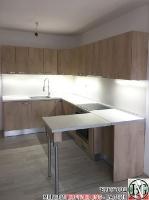 K014 - Кухня: Elegance Endgrain Oak и Дюна_4