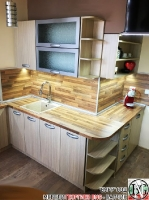 K004 - Кухня: Дъб Ферара и Porterhouse Walnut_22