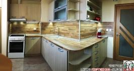 K004 - Кухня: Дъб Ферара и Porterhouse Walnut _1