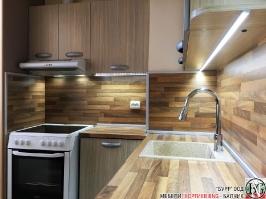 K004 - Кухня: Дъб Ферара и Porterhouse Walnut