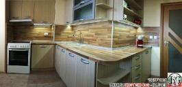 K004 - Кухня: Дъб Ферара и Porterhouse Walnut _5
