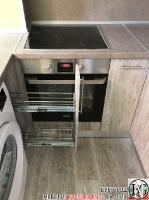 K005 - Кухня: Dark Astwood, Зелен пастел, F049 и PS54_2