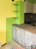 K005 - Кухня: Dark Astwood, Зелен пастел, F049 и PS54