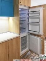 K006 - Кухня: Мармара синьо, дъб нагано и Авалон крем_4