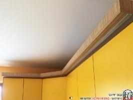 K007 - Кухня: Жълто/Sunshine, Зебрано сахара и етно венге - Кафяво_10