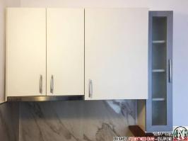 K012 - Горен ред шкафове за кухня: Цвят бяло_1