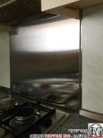 DR002 - Стенен панел за печка от неръждаема стомана/инокс