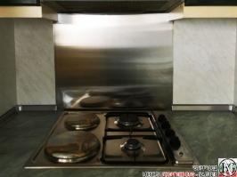 DR002 - Стенен панел за печка от неръждаема стомана/инокс_2