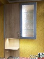 DR004 - Шкафове за тераса: Дъб Нагано и Алхамбра светла
