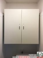 DR007 - Шкаф за мокро помещение: Цвят Бял