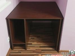 D001 - Бюро за компютър: Венге
