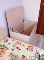 D004 - Ракла за детска стая: Макиато и Беже