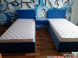 D006 - Обзавеждане за детска стая: Синьо Капри и Синьо Атол_2