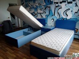 D006 - Обзавеждане за детска стая: Синьо Капри и Синьо Атол_3