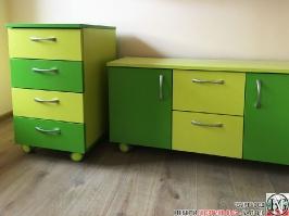 V011 - Шкафове на колела: Зелена Мамба и Лайм